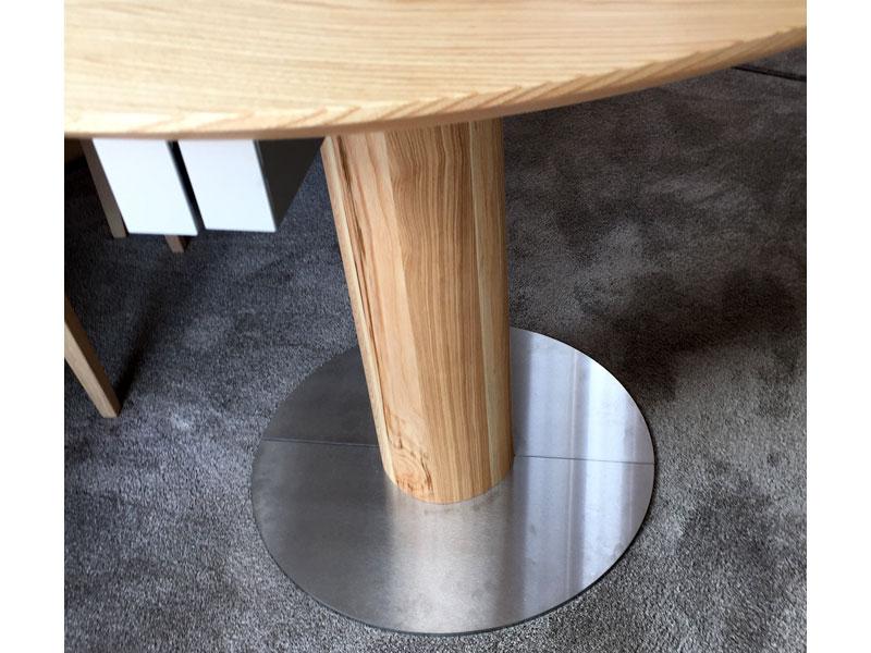 Esstisch 100 cm breit esstisch eiche massiv tisch metall for Esstisch rund 100 cm ausziehbar